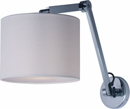 Maxim 60132WAPC Hotel Contemporary Polished Chrome LED Swing-Arm Lamp