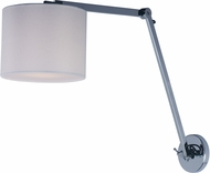Maxim 60133WAPC Hotel Modern Polished Chrome LED Wall Swing-Arm Lamp