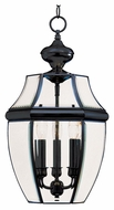 Maxim 6095CLBK South Park Black 12  Wide Exterior Lighting Pendant