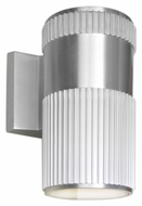 Maxim 6125AL Lightray Modern Brushed Aluminum Finish 4.25  Wide Exterior Lighting Wall Sconce