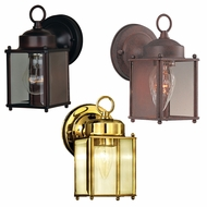 Maxim 6879CL Side Door Traditional 8 Tall Outdoor Lighting Sconce