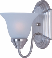 Maxim 8011FTSN Essentials - 801x Satin Nickel Lighting Wall Sconce
