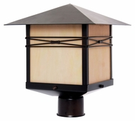 Maxim 8044IRBU Taliesin Burnished 11  Wide Exterior Post Lighting