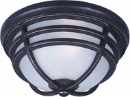Maxim 84109WPAT Westport DC EE Artesian Bronze Fluorescent Outdoor Ceiling Lighting Fixture