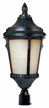 Maxim 85010LTES Odessa EE Traditional Espresso 20.5  Tall Outdoor Lighting Post Light