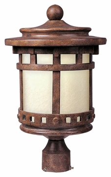Maxim 85036MOSE Santa Barbara EE Traditional Sienna 9  Wide Exterior Post Light