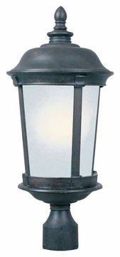 Maxim 85092FSBZ Dover EE Traditional Bronze 25.5  Tall Outdoor Post Light