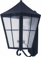 Maxim 85331CDFTBK Revere Black Fluorescent Outdoor Wall Light Sconce