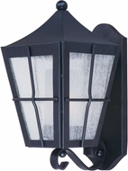 Maxim 85332CDFTBK Revere Black Fluorescent Exterior Wall Sconce Light