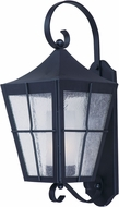 Maxim 85334CDFTBK Revere Black Fluorescent Outdoor Wall Sconce