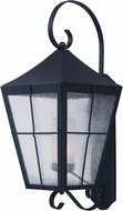 Maxim 85338CDFTBK Revere Black Fluorescent Exterior Sconce Lighting