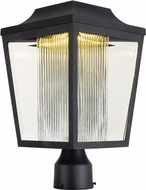Maxim 85630CLCRAR Villa Anthracite LED Exterior Post Light