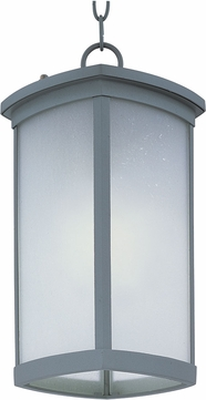 Maxim 85759FSPL Terrace EE Platinum Fluorescent Exterior Hanging Light