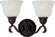 Maxim 85808ICOI Linda EE Oil Rubbed Bronze 2-Light Bathroom Lighting Fixture