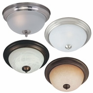 Maxim 85840 Flush Mount EE 6  Tall Fluorescent Flush Mount Light Fixture