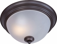 Maxim 85840FTOI Flush Mount EE Oil Rubbed Bronze Flush Mount Light Fixture