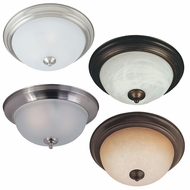 Maxim 85841 Flush Mount EE 13.5  Wide Fluorescent Flush Mount Lighting Fixture