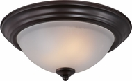 Maxim 85841FTOI Flush Mount EE Oil Rubbed Bronze Flush Ceiling Light Fixture