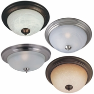 Maxim 85842 Flush Mount EE 6  Tall Fluorescent Flush Ceiling Light Fixture