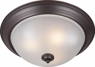 Maxim 85842FTOI Flush Mount EE Oil Rubbed Bronze Home Ceiling Lighting