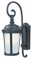 Maxim 86093FSBZ Dover EE Traditional Bronze 19.5  Tall Outdoor Wall Sconce Lighting