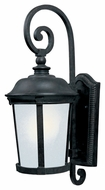 Maxim 86094FSBZ Dover EE Traditional Bronze 10  Wide Exterior Wall Mounted Lamp