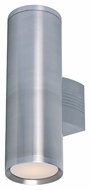 Maxim 86102AL Lightray LED Modern Brushed Aluminum Finish 5  Wide Exterior Wall Light Sconce