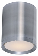 Maxim 86104AL Lightray LED Modern Brushed Aluminum Finish 5  Wide Exterior Flush Mount Ceiling Light Fixture
