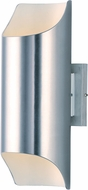 Maxim 86119AL Lightray LED Contemporary Brushed Aluminum LED Outdoor Wall Light Fixture