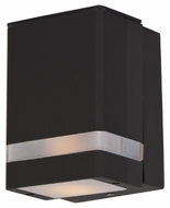 Maxim 86128ABZ Lightray LED Contemporary Architectural Bronze Finish 6.25  Tall Outdoor Lamp Sconce