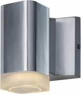 Maxim 86131AL Lightray Modern Brushed Aluminum LED Outdoor Wall Light Fixture