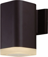 Maxim 86137ABZ Lightray Contemporary Architectural Bronze LED Exterior Wall Light Sconce