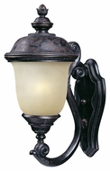 Maxim 86523MOOB Carriage House EE Traditional Oriental Bronze 20  Tall Outdoor Wall Mounted Lamp