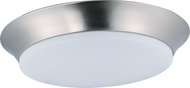 Maxim 87599WTSN Profile EE Satin Nickel LED Flush Mount Lighting Fixture