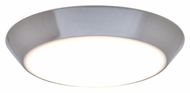 Maxim 87615WTSN Convert Satin Nickel Finish 8  Wide LED Overhead Light Fixture
