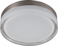 Maxim 87632CLWTSN Illuminaire LED Satin Nickel Flush Mount Light Fixture