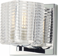 Maxim 9071CRPC Groove Contemporary Polished Chrome LED Wall Light Sconce
