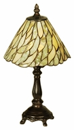 Meyda Tiffany 103041 Jadestone Willow Tiffany 13  Tall Table Lamp