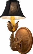 Meyda Tiffany 117361 Esther Country Autumn Leaf Wall Sconce Lighting