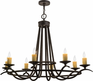 Meyda Tiffany 117861 Octavia Chestnut Chandelier Lighting