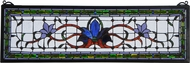 Meyda Tiffany 119445 Tiffany Patina Fairytale Transom Window