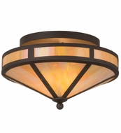 Meyda Tiffany 132446 Craftsman Prime Oil Rubbed Bronze Ceiling Lighting