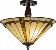 Meyda Tiffany 138901 Belvidere Tiffany Ceiling Light Fixture