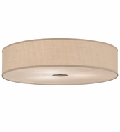Meyda Tiffany 143290 Cilindro Nickel Fluorescent Ceiling Light Fixture