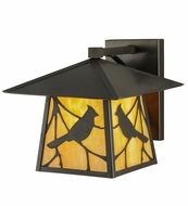 Meyda Tiffany 143329 Stillwater Song Bird 12  Tall Exterior Wall Lighting Sconce