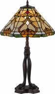 Meyda Tiffany 144901 Middleton Tiffany Mahogany Bronze Table Lamp