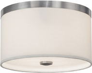 Meyda Tiffany 145094 Cilindro Brushed Nickel Fluorescent Overhead Lighting