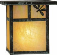 Meyda Tiffany 146928 Hyde Park T Mission Bai Verd Wall Lighting Fixture