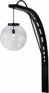 Meyda Tiffany 147835 Bola Urbano Modern Black / White Acrylic Lighting Sconce
