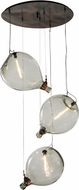 Meyda Tiffany 147927 Euri Tanta Pouring 36  Wide Vintage Multi Pendant Light